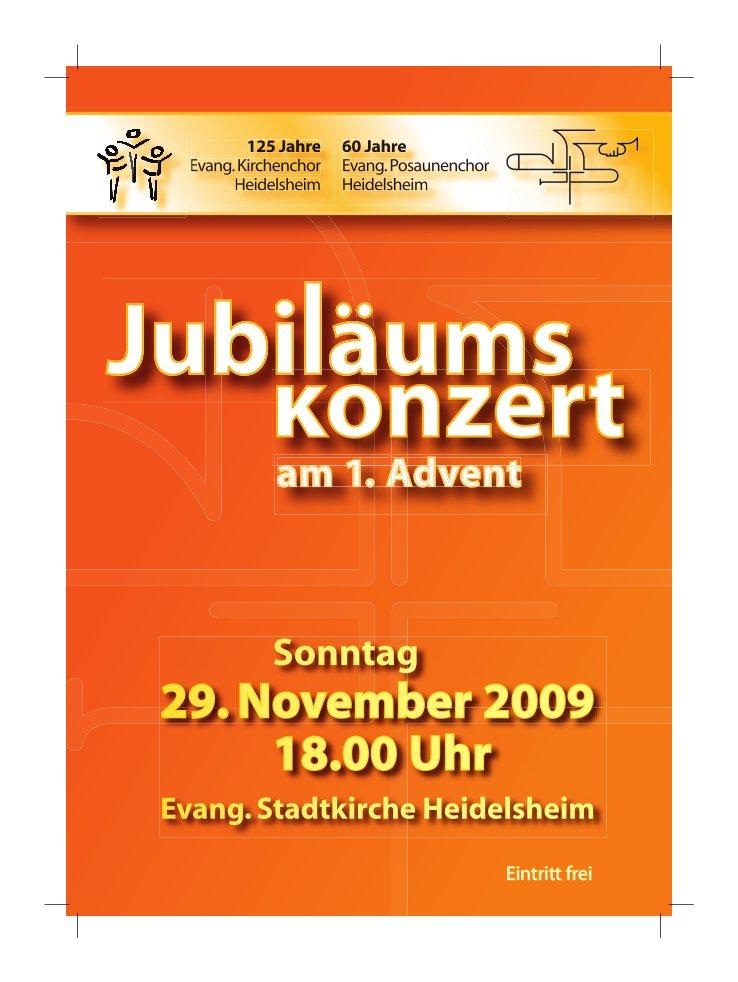Posaunenchor-Jubilaeumskonzert Nov2009