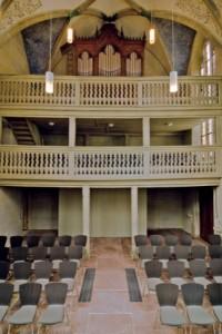 Martinskapelle Orgel und Emporen