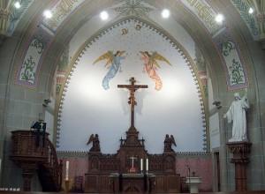 Stadtkirche Altarraum