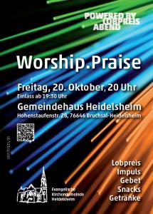 Flyer Worship.Praise