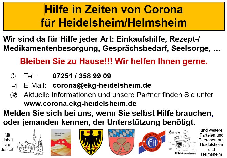 Flyer für Heidelsheim