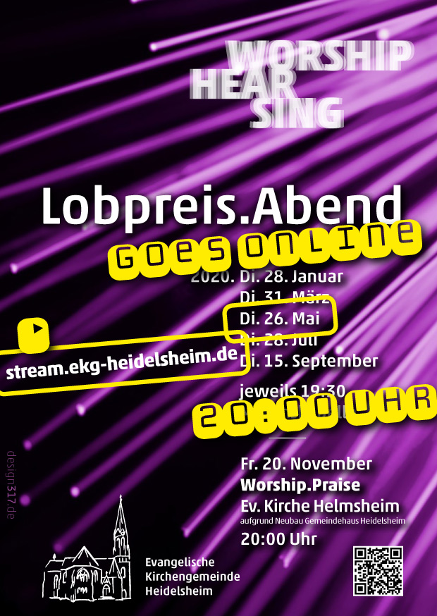 Lobpreis.Abend goes online