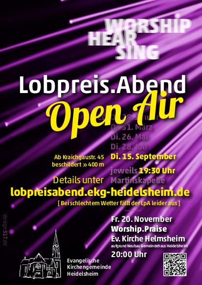 Flyer Lobprei Abend