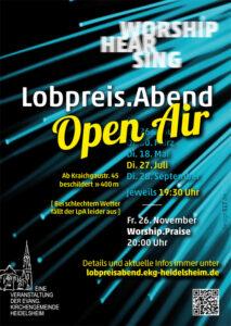 Lobpreis.Abend am 27. Juli 2021 open air